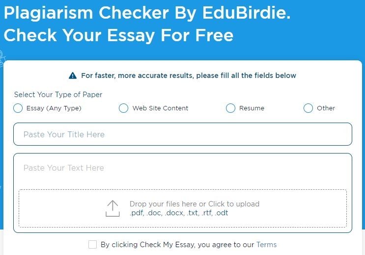 Edubirdie plagiarism checkers and paraphrasing tools