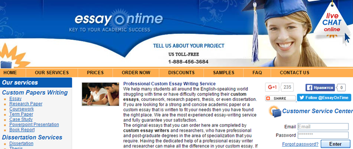 Review of EssayOnTime.com Services