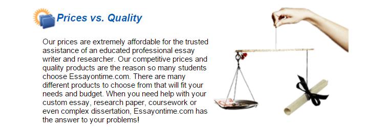 Reviews of EssayOnTime.com Services