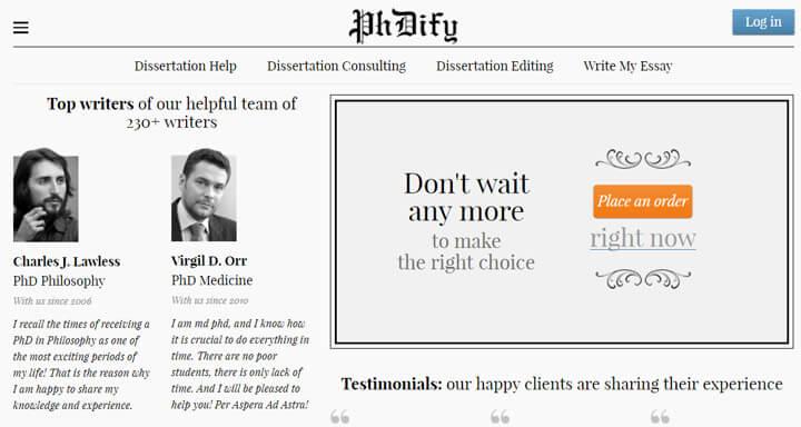 phdify.com essay review