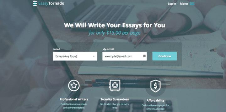 Review of EssayTornado.com Services
