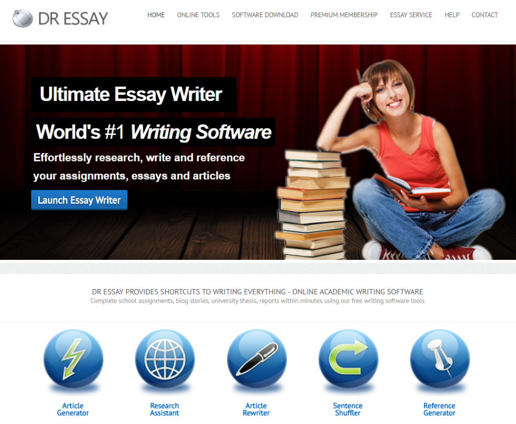 look at review of DrEssay.com